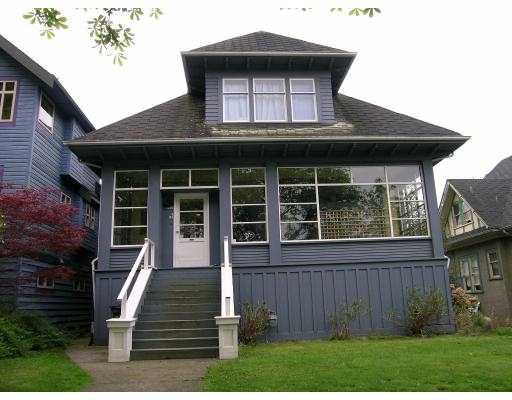 Main Photo: 1850 NAPIER ST in : Grandview VE House for sale : MLS®# V585662