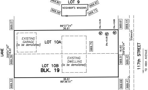 Main Photo: 4622 117 Street in Edmonton: Zone 15 Vacant Lot for sale : MLS®# E4171920