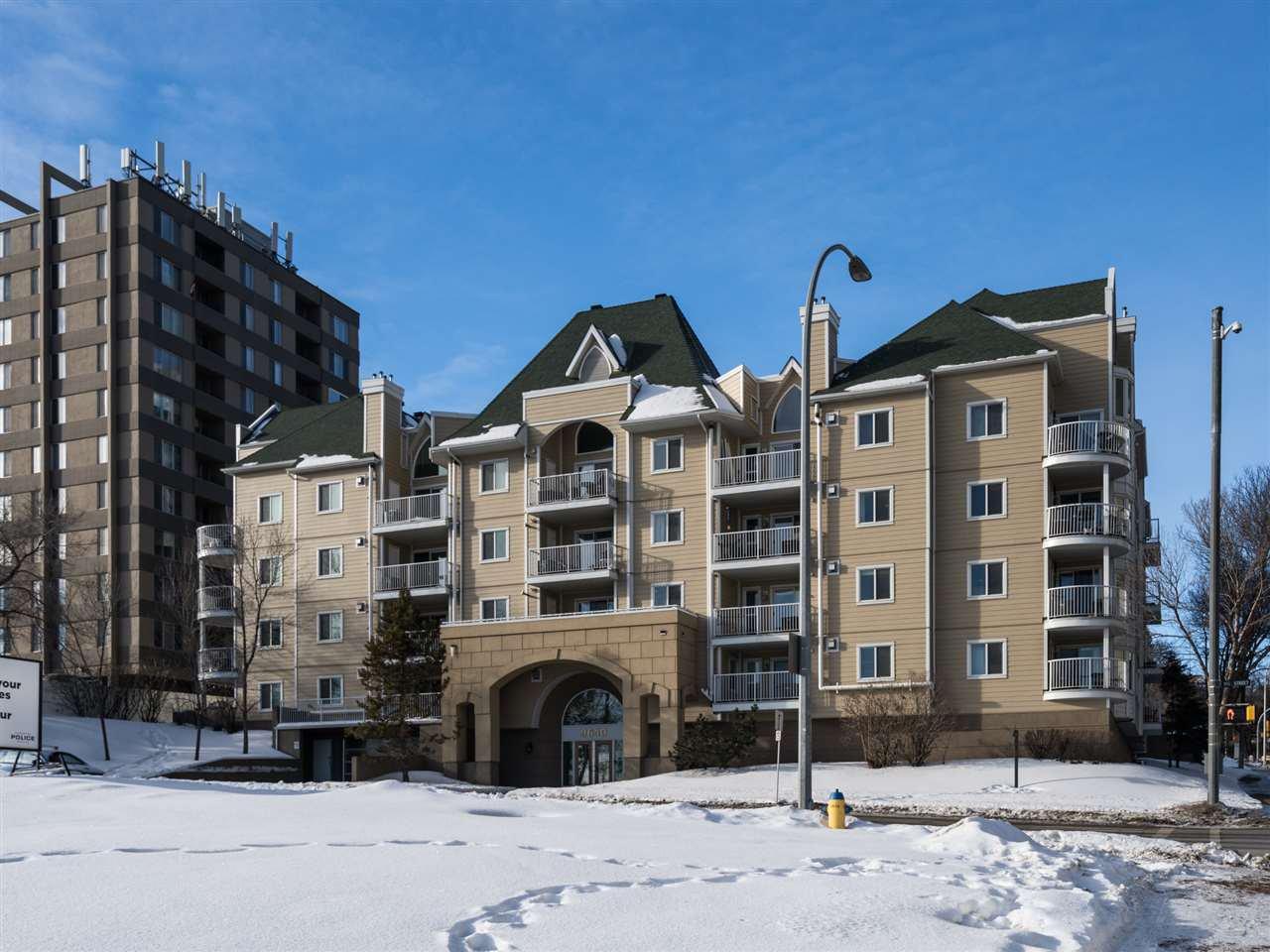 Main Photo: 311 9640 105 Street in Edmonton: Zone 12 Condo for sale : MLS®# E4186525