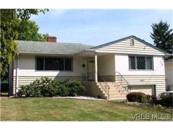 Main Photo:  in VICTORIA: SE Cedar Hill House for sale (Saanich East)  : MLS®# 377537