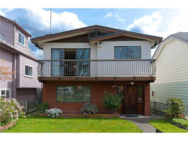 Photo 1: Photos: 4088 WELWYN ST in Vancouver: Victoria VE House for sale (Vancouver East)  : MLS®# V1004254
