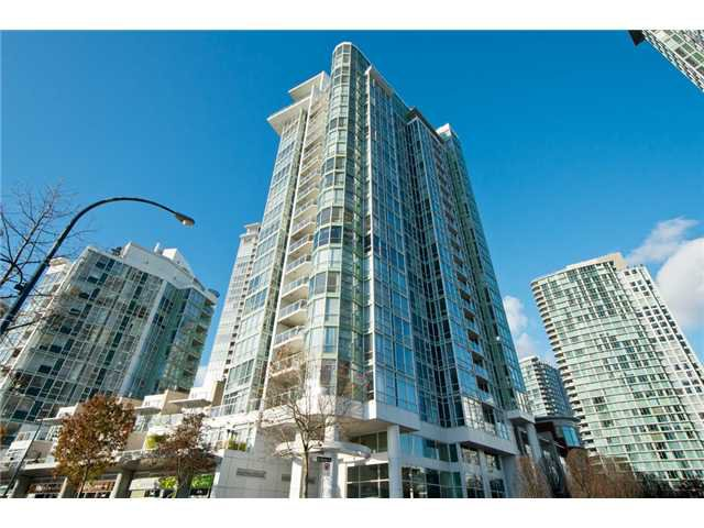 Main Photo: # 1607 1077 MARINASIDE CR in Vancouver: Yaletown Condo for sale ()  : MLS®# V987427