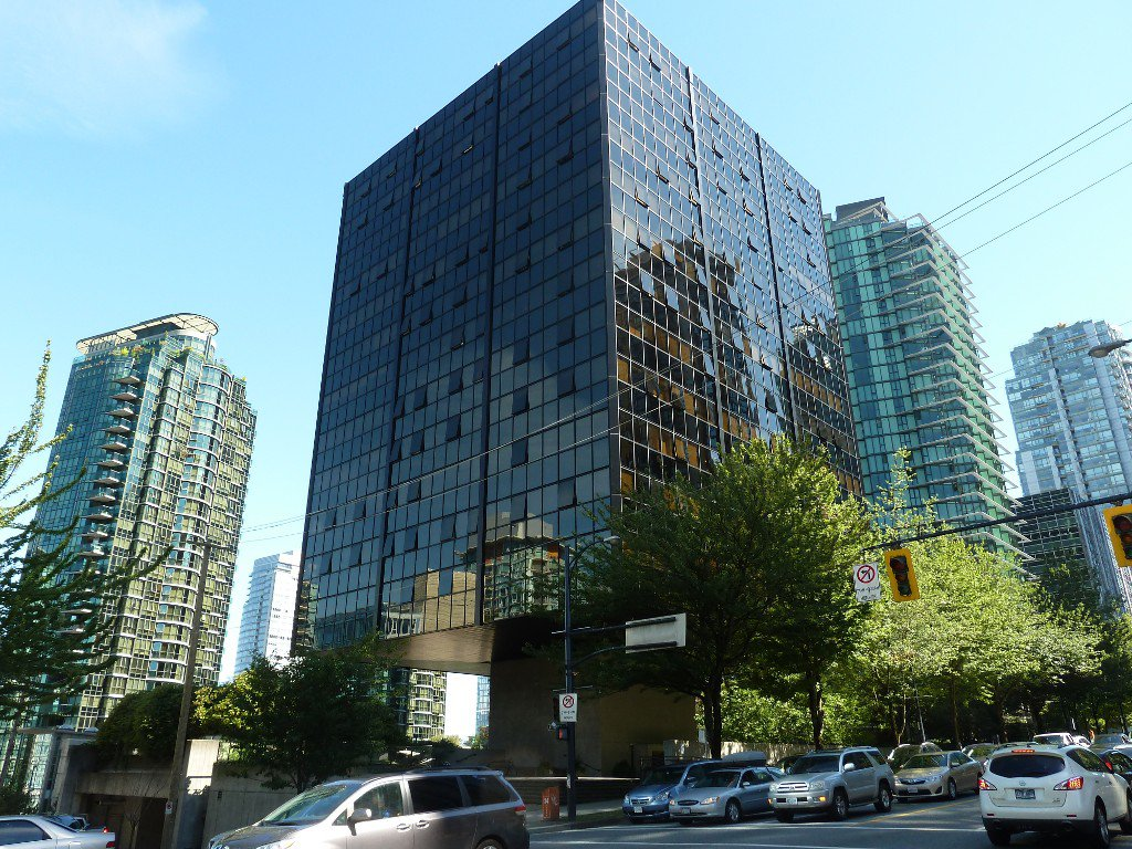 "Main Photo: 613 1333 W GEORGIA Street in Vancouver: Coal Harbour Condo for sale in ""Qube"" (Vancouver West)  : MLS®# V1024937"