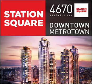 Main Photo: #1608 6098 Station Street  (STATIONS SQUARE II) in : Metrotown Condo  (Burnaby South)