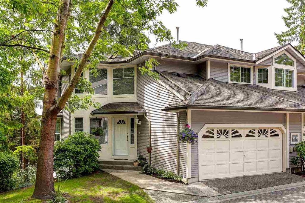Main Photo: 38 101 parkside Drive in port moody: Heritage Mountain Townhouse for sale (Port Moody)  : MLS®# R2074647