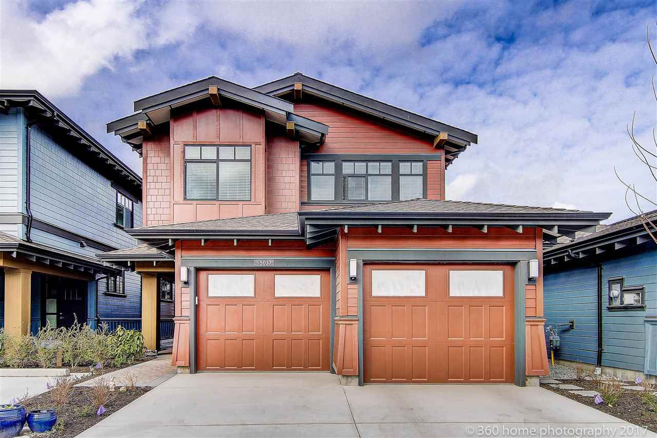 Main Photo: 5037 CEDAR SPRINGS DRIVE in Tsawwassen: Cliff Drive House for sale : MLS®# R2142060