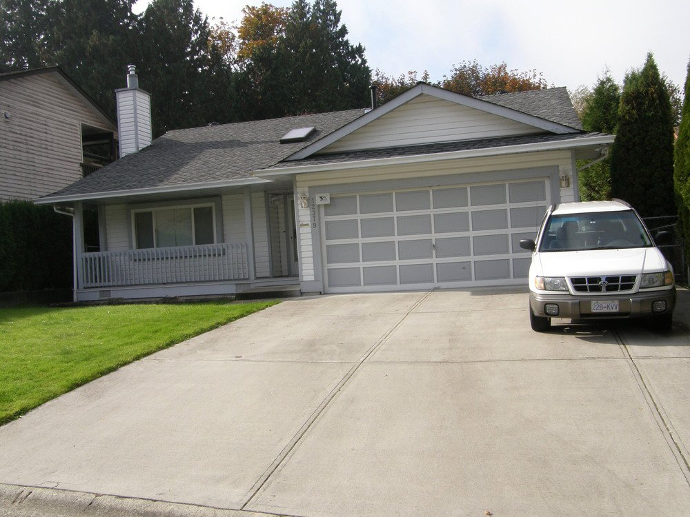 Main Photo: 12379 EDGE STREET in MAPLE RIDGE: Home for sale