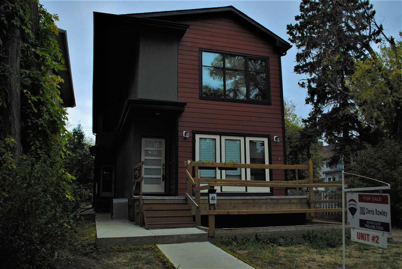 Main Photo: 2 10426 126 Street NW in Edmonton: Zone 07 House Half Duplex for sale : MLS®# E4211708