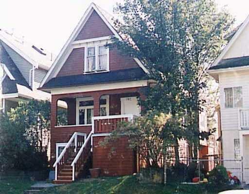 Main Photo: 780 - 782 E 15TH AV in : Mount Pleasant VE House Fourplex for sale : MLS®# V262830