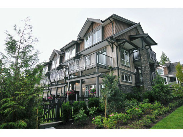"Main Photo: 115 1480 SOUTHVIEW Street in Coquitlam: Burke Mountain Townhouse for sale in ""CEDAR CREEK"" : MLS®# V1021731"