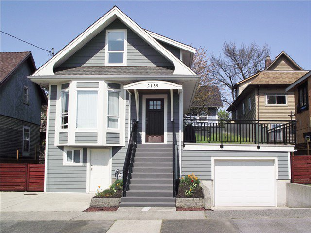 Main Photo: 2139 FERNDALE ST in Vancouver: Hastings House for sale (Vancouver East)  : MLS®# V1118453