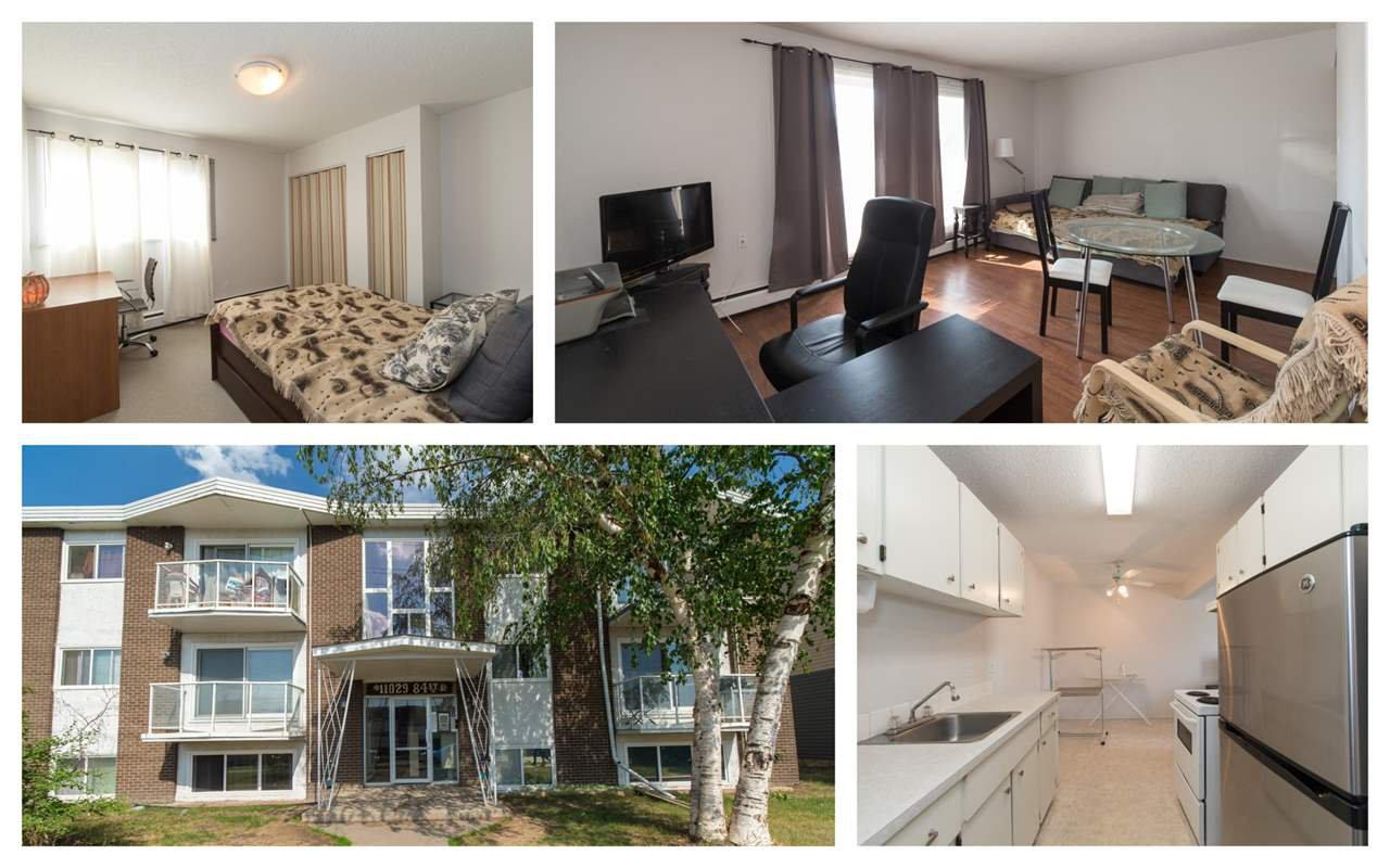 Main Photo: 207 11029 84 Street in Edmonton: Zone 09 Condo for sale : MLS®# E4173247