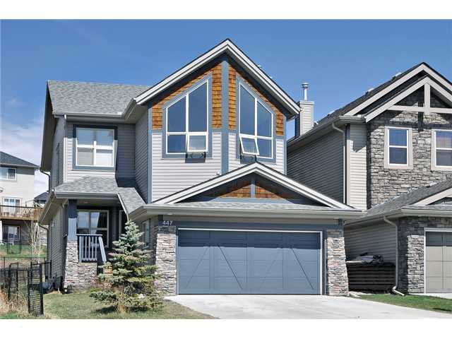 Main Photo: 447 ST MORITZ Drive SW in CALGARY: Springbank Hill Residential Detached Single Family for sale (Calgary)  : MLS®# C3567278