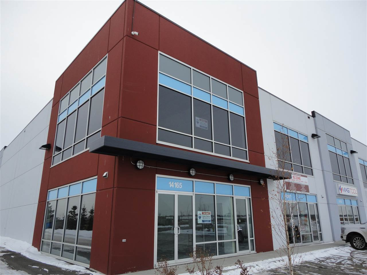 Main Photo: 14165 162 Avenue NW in Edmonton: Zone 40 Office for lease : MLS®# E4183721