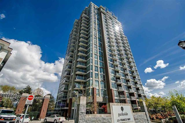Main Photo: #1210-271 FRANCIS WAY in NEW WESTMINSTER: Fraserview NW Condo for sale (New Westminster)  : MLS®# R2435132