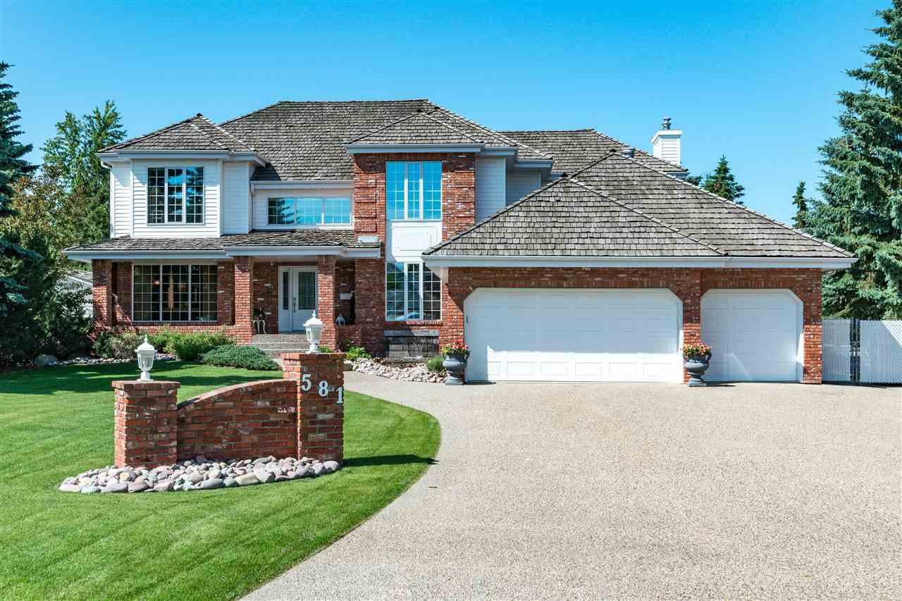 Main Photo: 581 ESTATE Drive: Sherwood Park House for sale : MLS®# E4204976