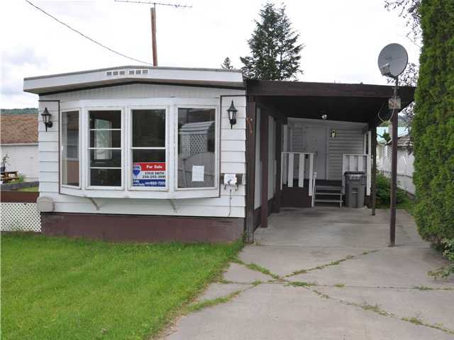 Main Photo: 291 HARTLEY Street in Quesnel: Quesnel - Town Manufactured Home for sale (Quesnel (Zone 28))  : MLS®# N220179