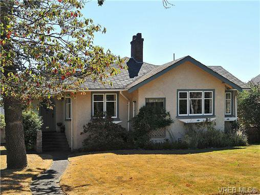 Main Photo: 919 St. Patrick Street in VICTORIA: OB South Oak Bay Residential for sale (Oak Bay)  : MLS®# 326783