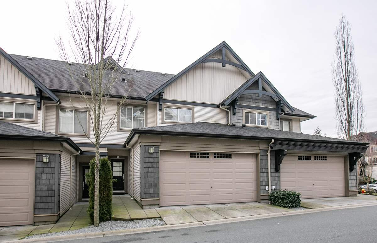 """Main Photo: 91 1369 PURCELL Drive in Coquitlam: Westwood Plateau Townhouse for sale in """"WHITETAIL LANE"""" : MLS®# R2435368"""