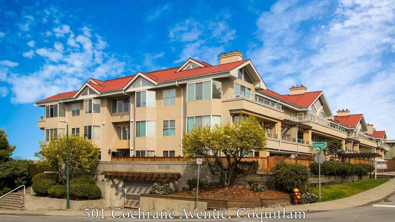 "Main Photo: 310 501 COCHRANE Avenue in Coquitlam: Coquitlam West Condo for sale in ""Garden Terrace"" : MLS®# R2452637"