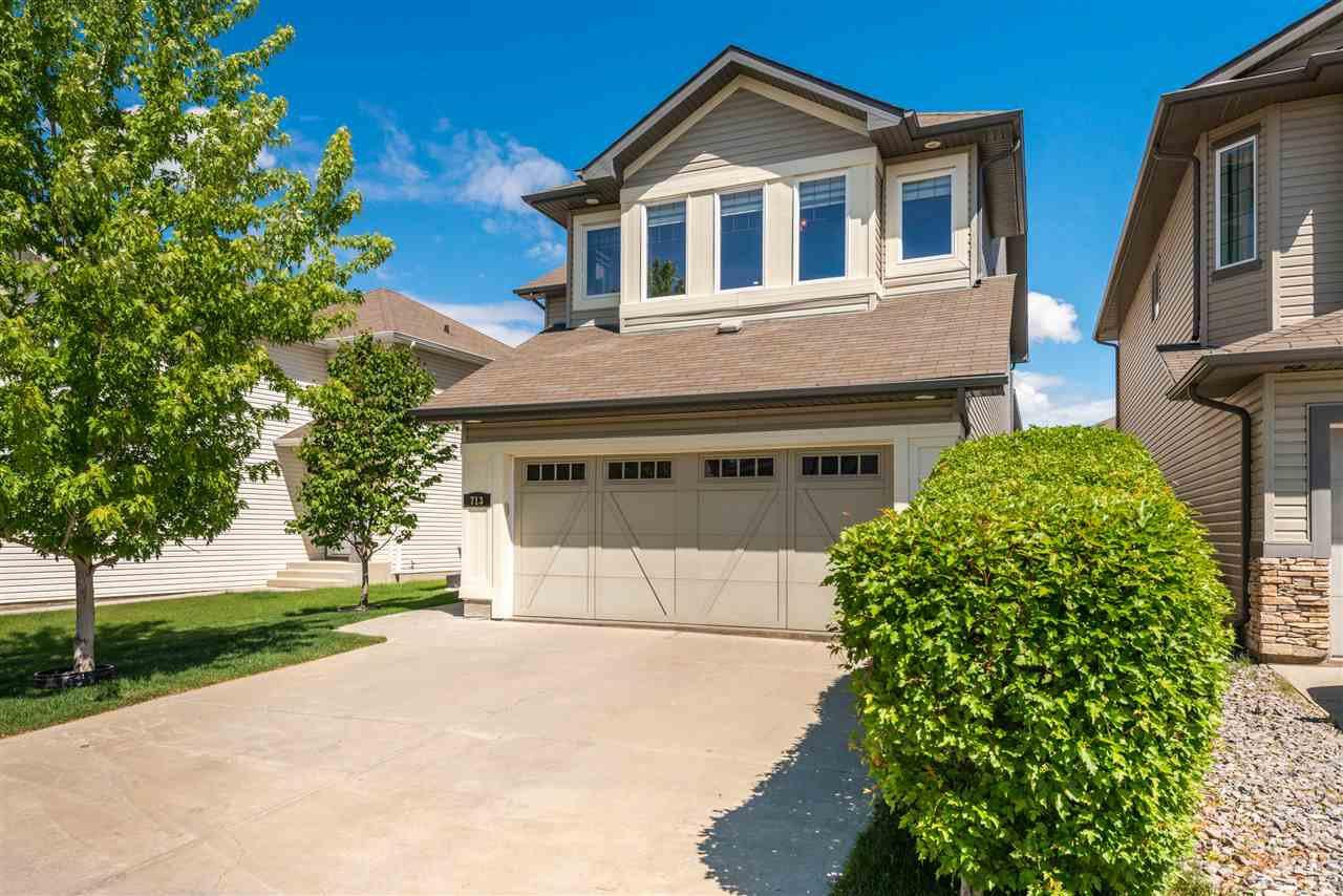 Main Photo: 713 173B Street in Edmonton: Zone 56 House for sale : MLS®# E4200985