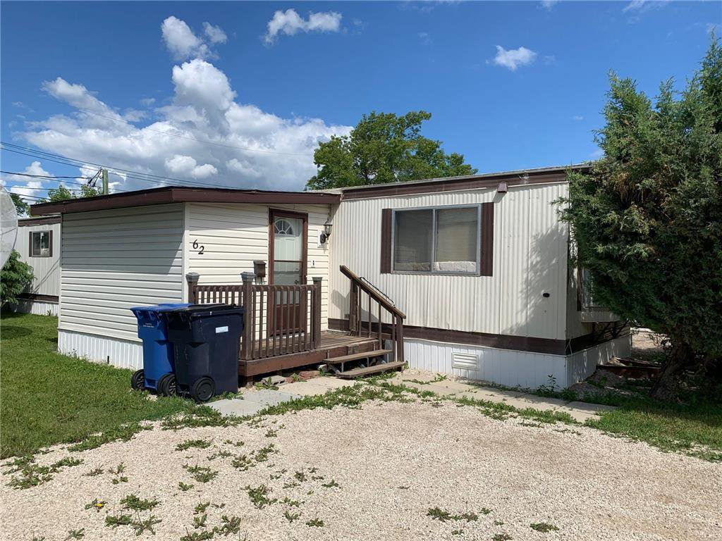 Main Photo: 62 1021 Jackson Street in Dauphin: Southwest Residential for sale (R30 - Dauphin and Area)  : MLS®# 202014621