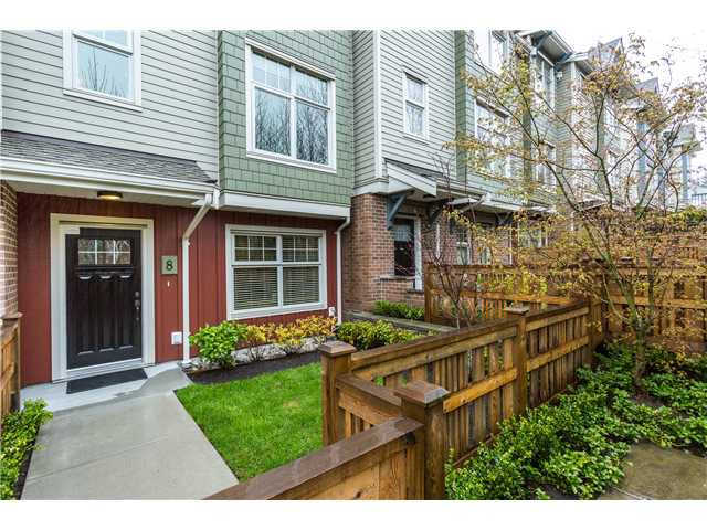 Main Photo: # 8 3380 FRANCIS CR in Coquitlam: Burke Mountain Condo for sale : MLS®# V1113315