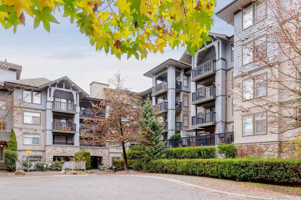 "Main Photo: 216 2988 SILVER SPRINGS Boulevard in Coquitlam: Westwood Plateau Condo for sale in ""Trillium"" : MLS®# R2420930"