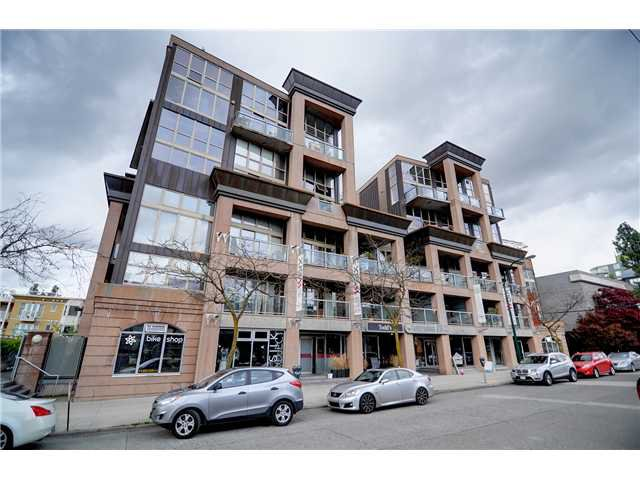 "Main Photo: # 311 1529 W 6TH AV in Vancouver: False Creek Condo for sale in ""SOUTH GRANVILLE LOFTS"" (Vancouver West)  : MLS®# V947302"