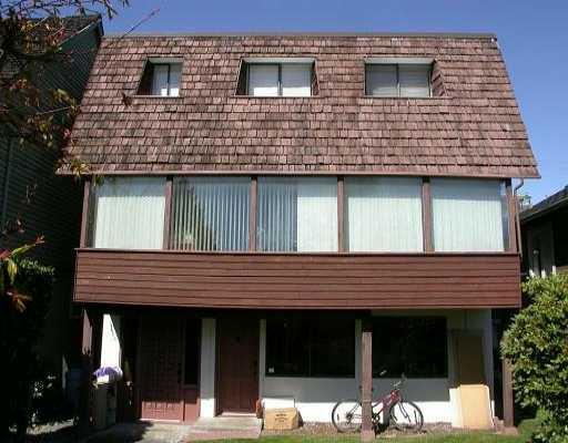 Main Photo: 3255 W 5TH AV in : Kitsilano House for sale : MLS®# V532649