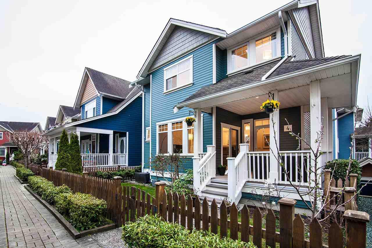 Main Photo: 4 13160 PRINCESS STREET in Richmond: Steveston South Townhouse for sale : MLS®# R2355249