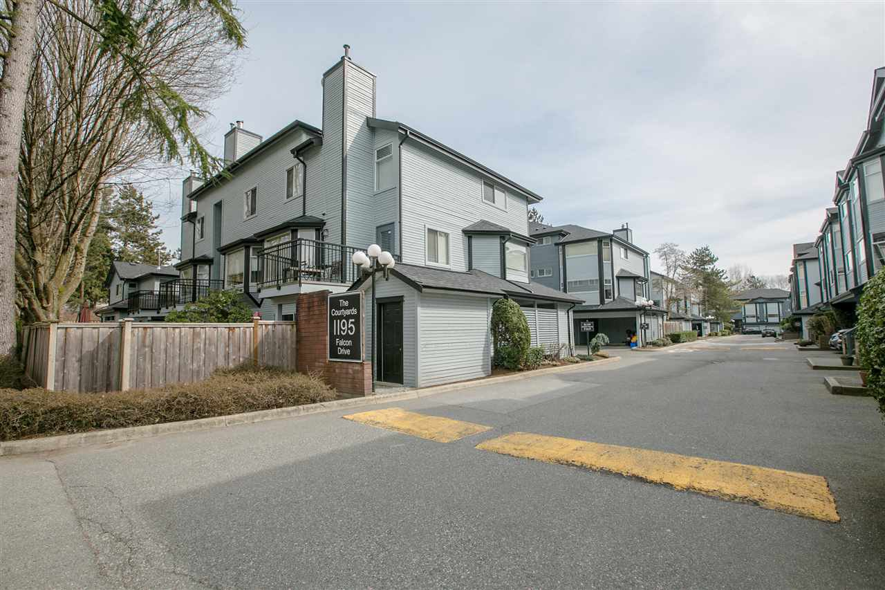 One of Coquitlam's most desirable town home complexes.