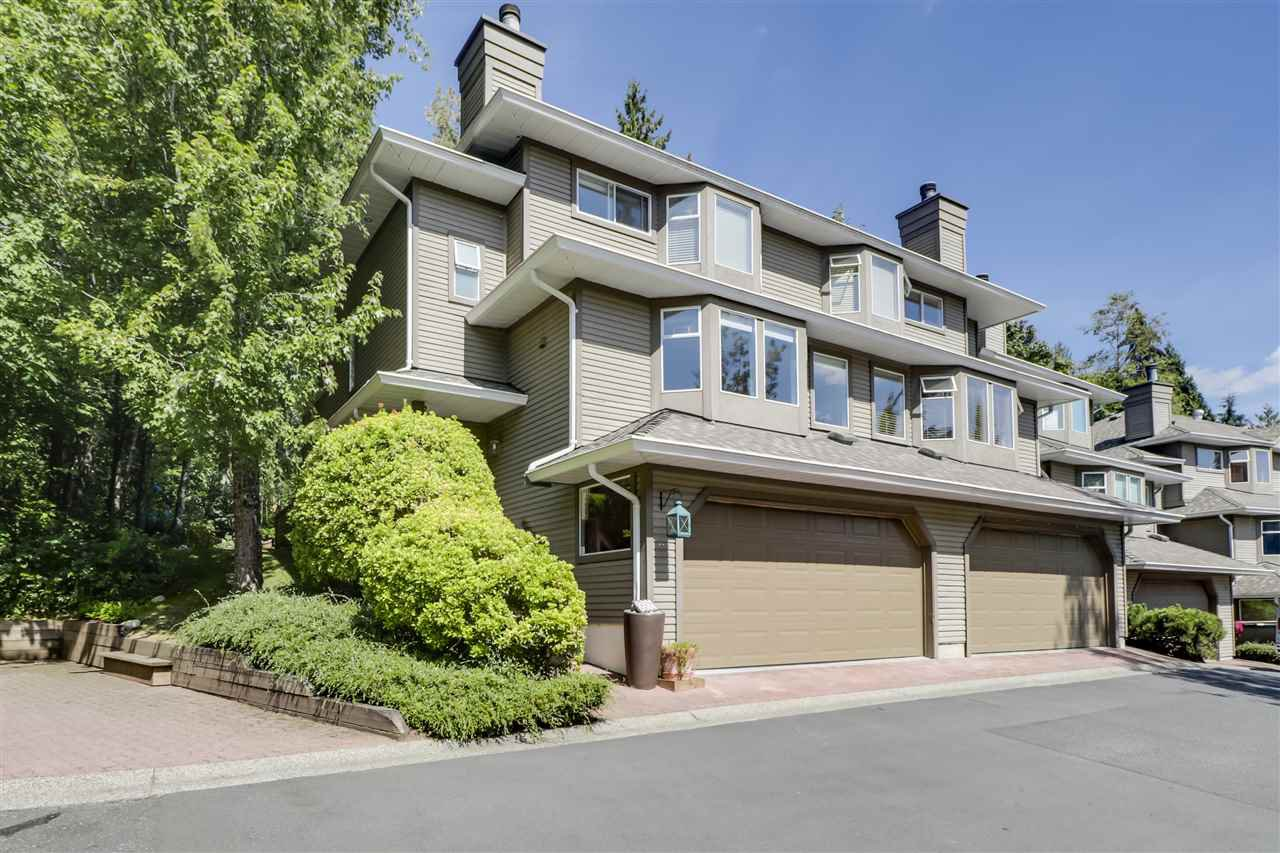 "Main Photo: 8881 LARKFIELD Drive in Burnaby: Forest Hills BN Townhouse for sale in ""PRIMROSE HILL"" (Burnaby North)  : MLS®# R2494951"
