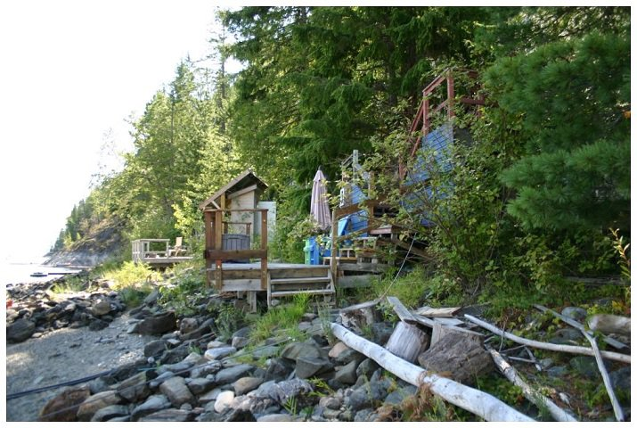 Photo 6: Photos: 3 Aline Hill Beach in Shuswap Lake: The Narrows House for sale : MLS®# 10152873