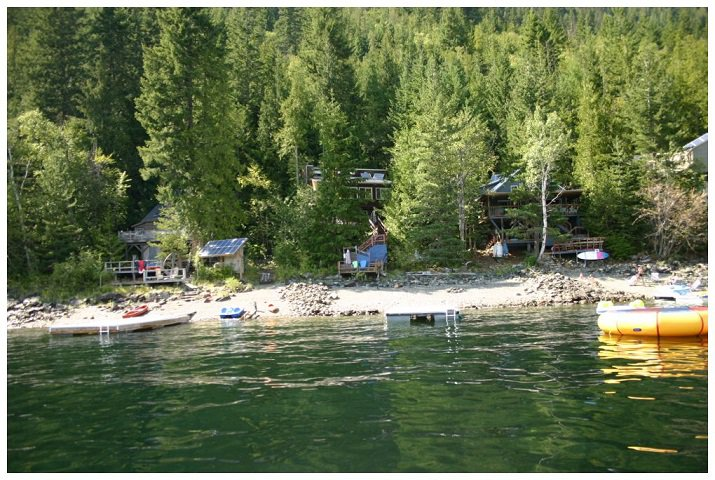Photo 4: Photos: 3 Aline Hill Beach in Shuswap Lake: The Narrows House for sale : MLS®# 10152873