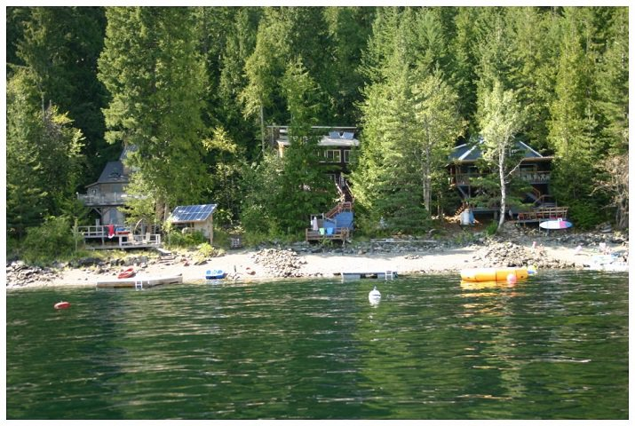 Photo 3: Photos: 3 Aline Hill Beach in Shuswap Lake: The Narrows House for sale : MLS®# 10152873