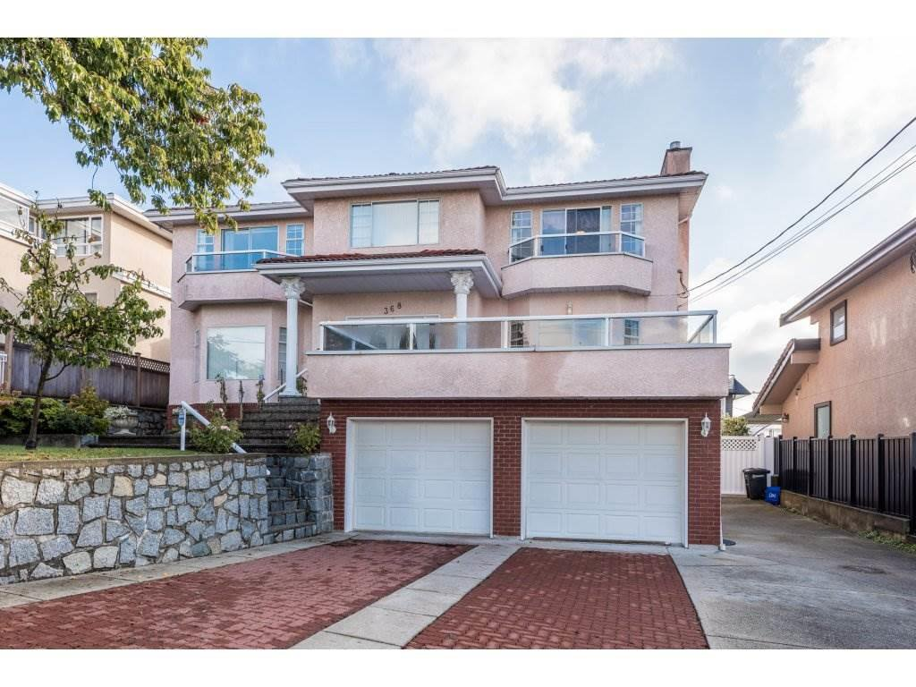 Main Photo: 368 HYTHE AVENUE in Burnaby: Capitol Hill BN House for sale (Burnaby North)  : MLS®# R2226832