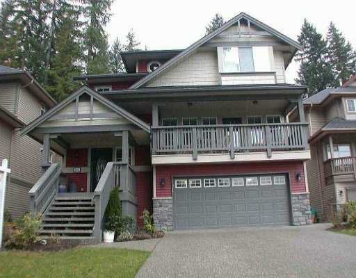 Main Photo: 3289 CANTERBURY LN in Coquitlam: Burke Mountain House for sale : MLS®# V524740