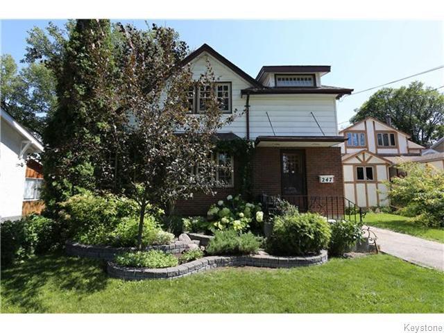 Main Photo: 247 Scotia Street in Winnipeg: Single Family Detached for sale (North East Winnipeg)  : MLS®# 1522204