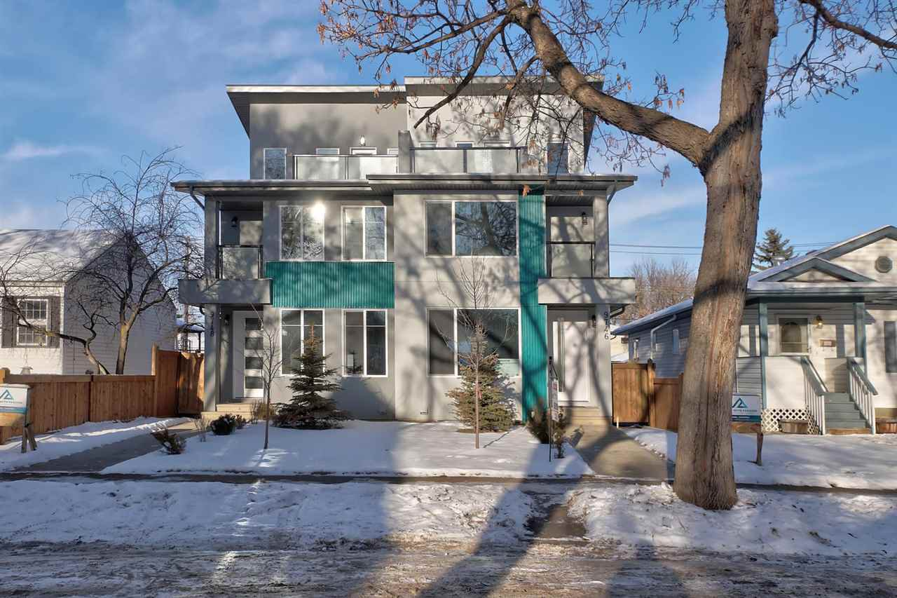 Main Photo: 9746 72 Avenue NW in Edmonton: Zone 17 House Half Duplex for sale : MLS®# E4196427