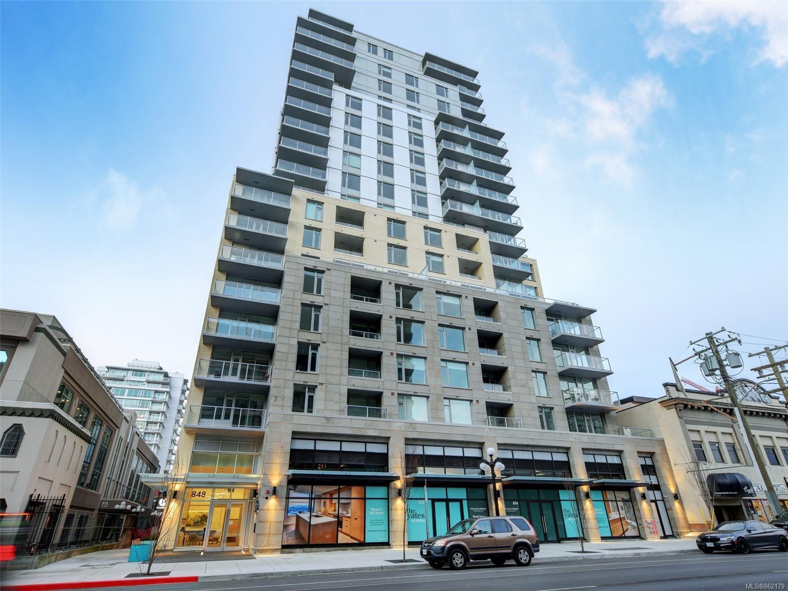 Main Photo: 707 848 Yates St in : Vi Downtown Condo for sale (Victoria)  : MLS®# 862179
