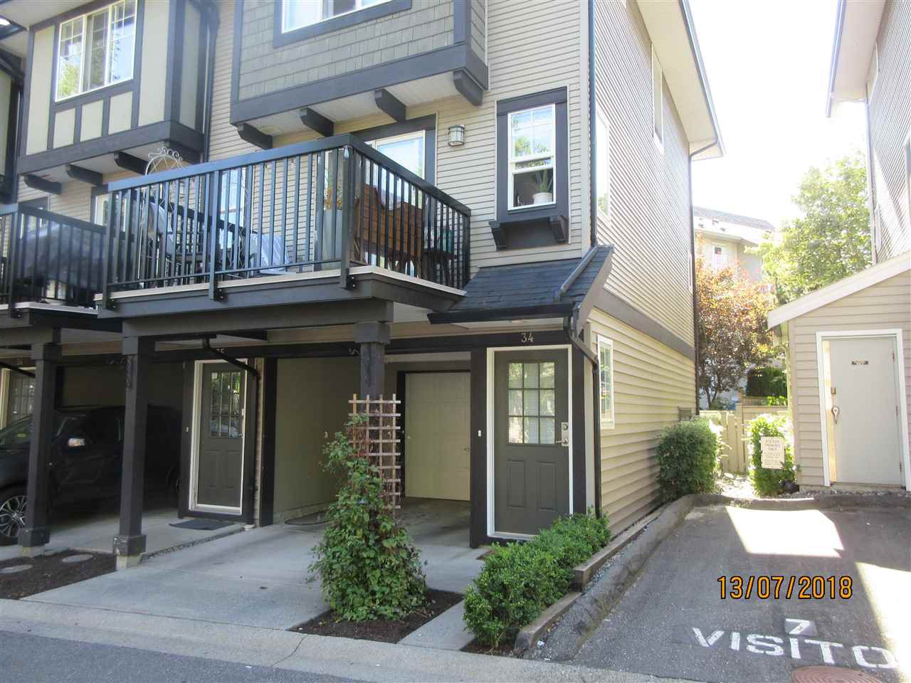 Main Photo: 34 20176 68 AVENUE in Langley: Willoughby Heights Townhouse for sale : MLS®# R2289319