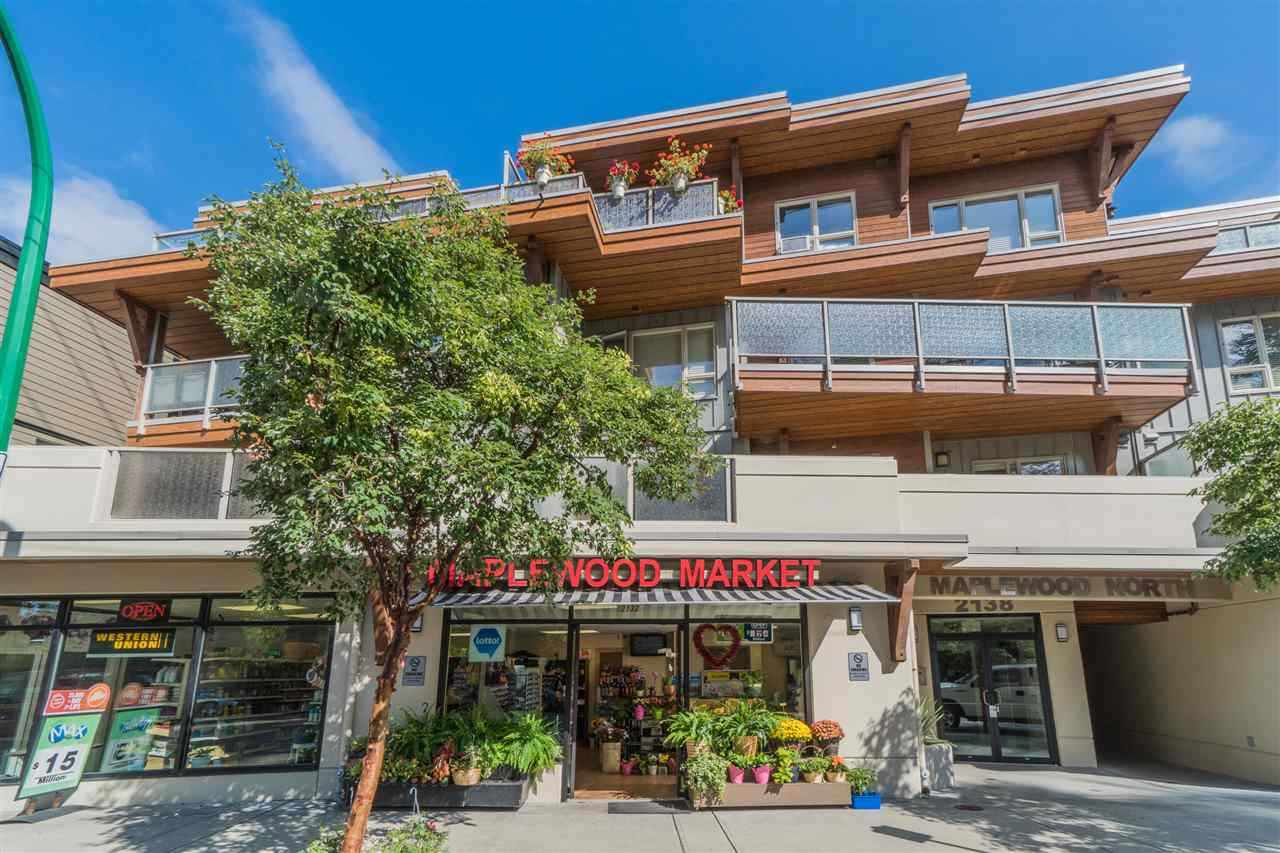 """Main Photo: 206 2138 OLD DOLLARTON Road in North Vancouver: Seymour NV Condo for sale in """"MAPLEWOOD NORTH"""" : MLS®# R2389228"""