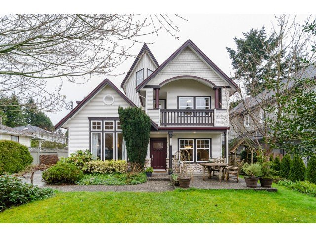 Main Photo: 1420 129B ST in Surrey: Crescent Bch Ocean Pk. House for sale (South Surrey White Rock)  : MLS®# F1436054