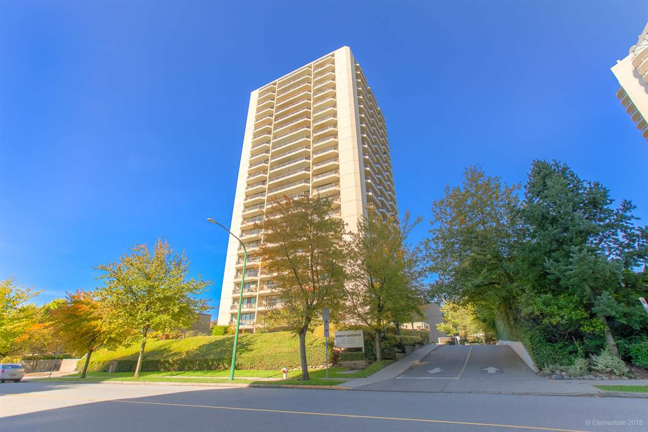 "Main Photo: 1106 4353 HALIFAX Street in Burnaby: Brentwood Park Condo for sale in ""BRENT GARDENS"" (Burnaby North)  : MLS®# R2412787"