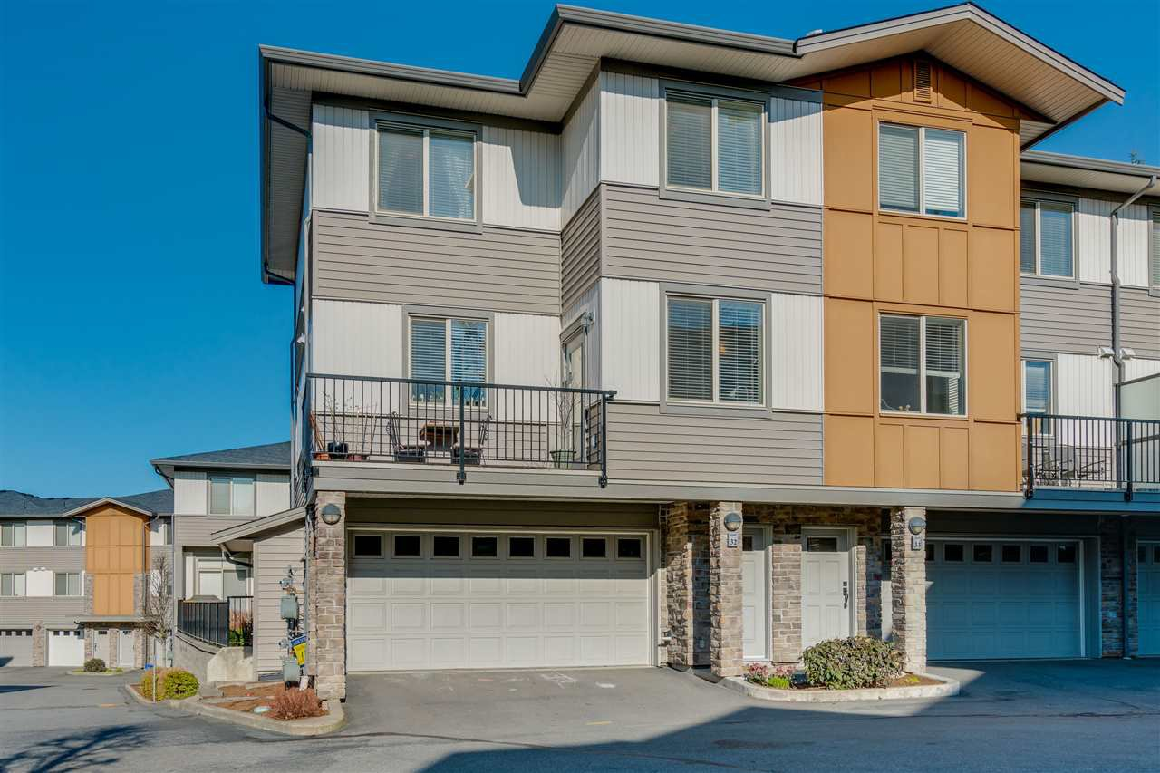 "Main Photo: 32 34248 KING Road in Abbotsford: Poplar Townhouse for sale in ""Argyle"" : MLS®# R2449136"