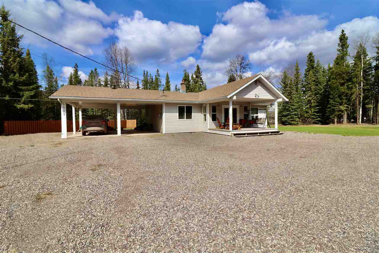 Main Photo: 1504 AVELING COALMINE Road in Smithers: Smithers - Rural House for sale (Smithers And Area (Zone 54))  : MLS®# R2452977
