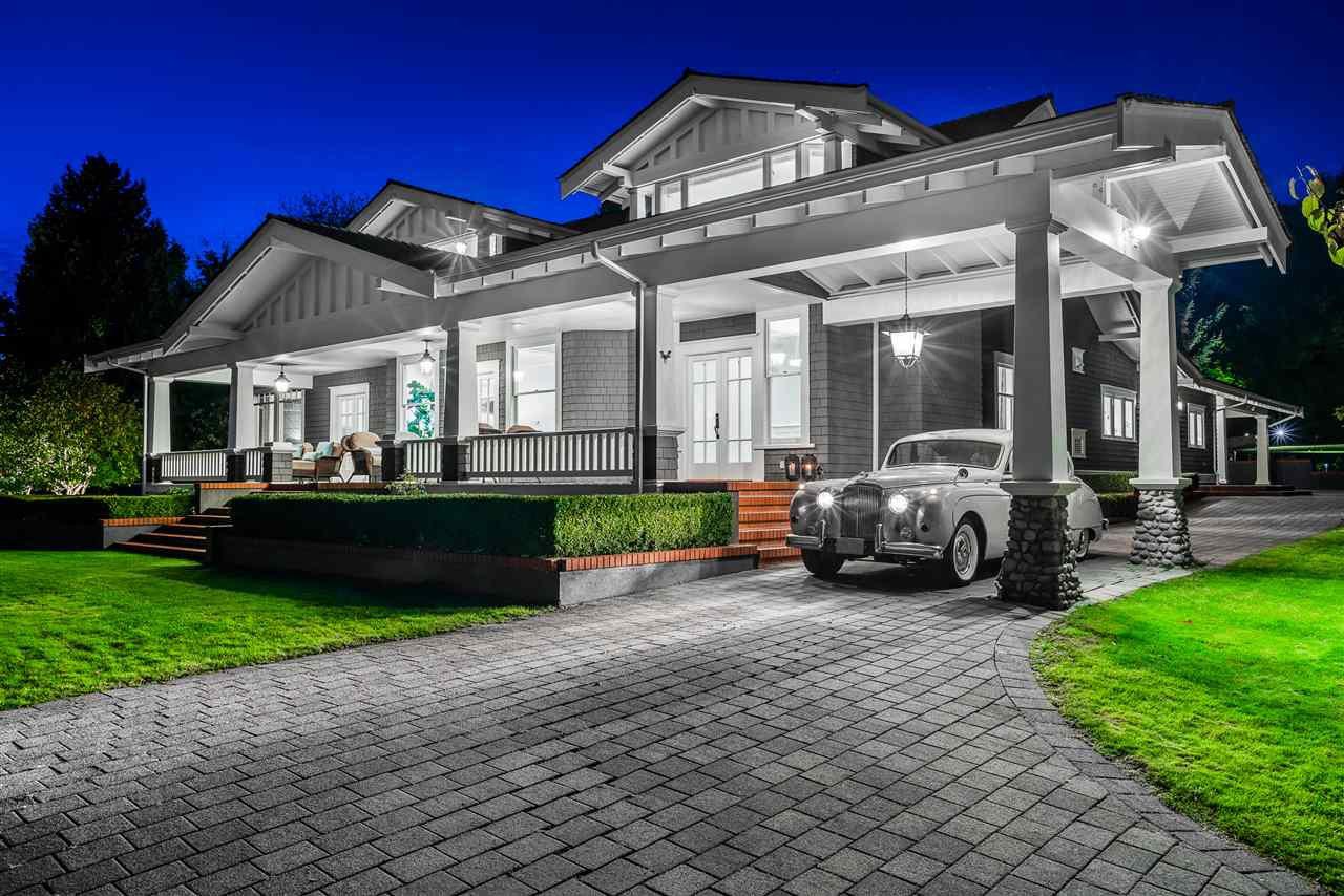 Main Photo: Ambleside 38768 sf FLAT lot house, ocean view