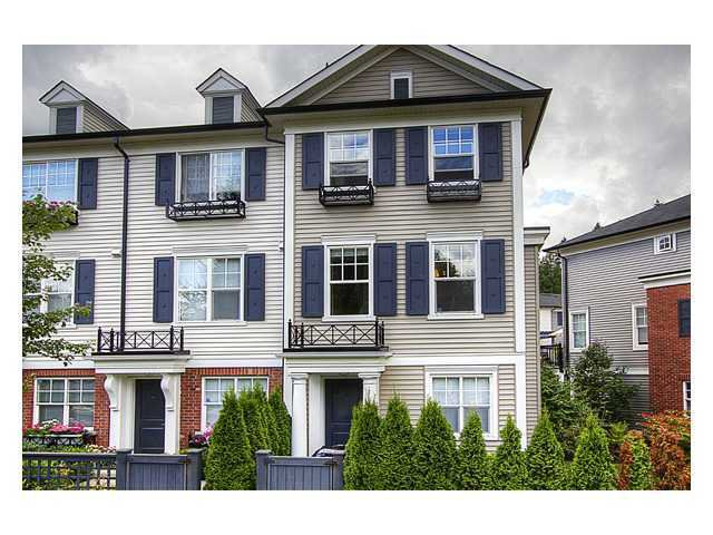 """Main Photo: 57 101 FRASER Street in Port Moody: Port Moody Centre Townhouse for sale in """"CORBEAU"""" : MLS®# V966315"""