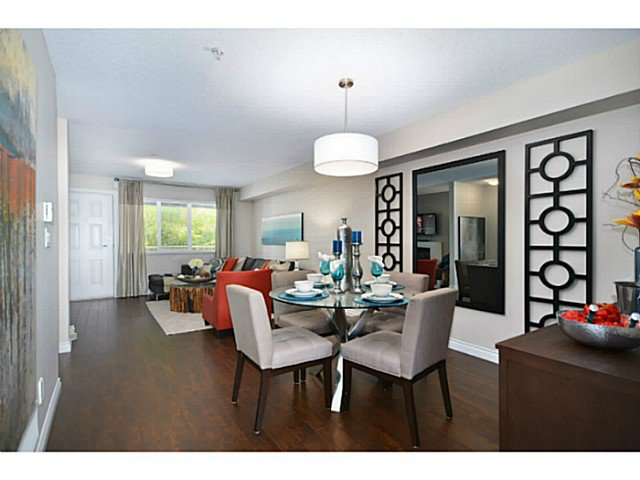 "Main Photo: 6 1268 RIVERSIDE Drive in Port Coquitlam: Riverwood Townhouse for sale in ""SOMERSTON LANE"" : MLS®# V1012744"
